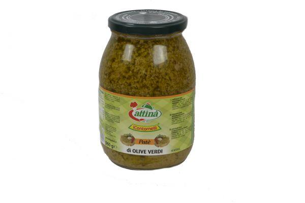 Pate di Olive Verdi 960 g attina