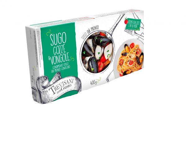 Mies- und Venusmuschel Sauce 400g /Trevisani Pietro