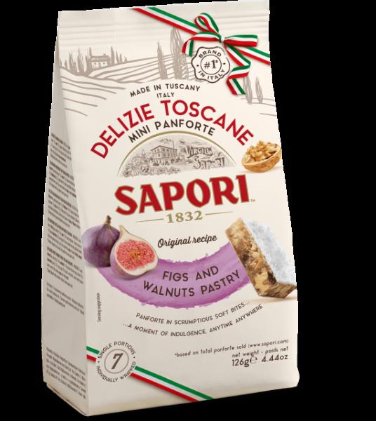 Delizie Toscane Mini Panforte 126 g / Sapori