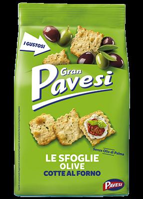 Cracker mit Olive 160 g / Pavesi