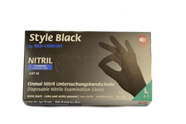 "Latex handschuhe "" L "" Schwarz"