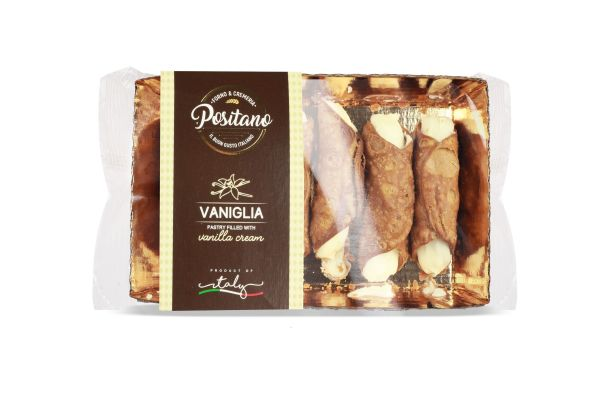Cannoli siciliani mit Vanillecreme 170g/Positano