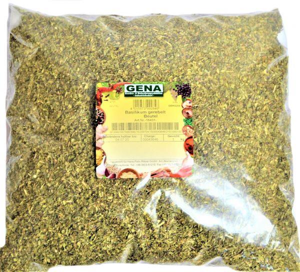 Basilikum gerebelt 0,500 g Beutel /Gena