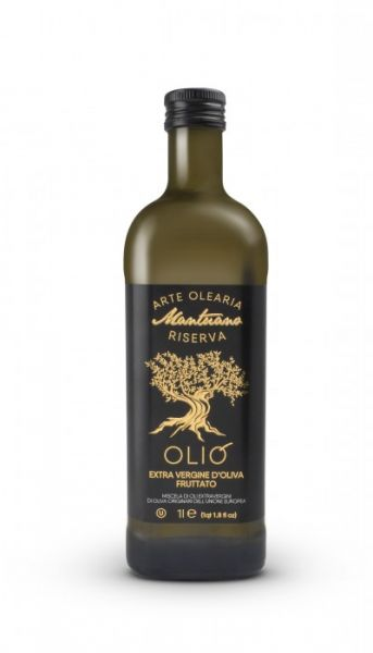 Olio extra vergine d´Oliva Olivenöl 1L Fruttato / Verde Oro