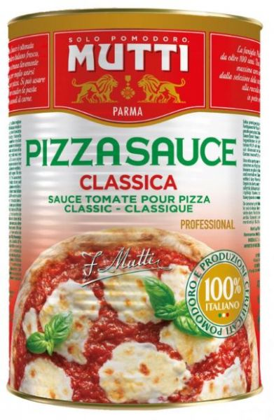 Pizzasauce Classica 4100g Mutti