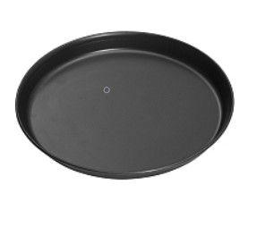 Pizzablech schwarz 30cm