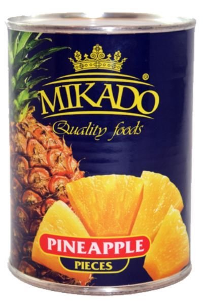 Ananas Stücke 850 ml /Mikado