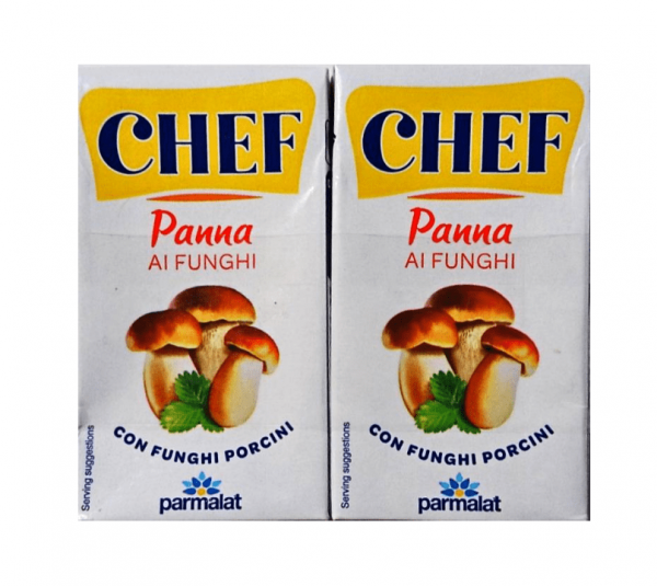 Panna ai Funghi 2x125ml./ Chef Parmalat