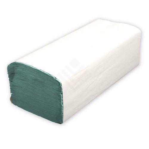 Handtuchpapier grün einzelner Pack