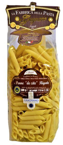 Penne de zite Rigate 500g/La Fabbrica della Pasta