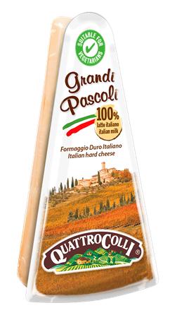 Grandi Pascoli ital.Hartkäse 200 g/Quattrocolli Parmareggio