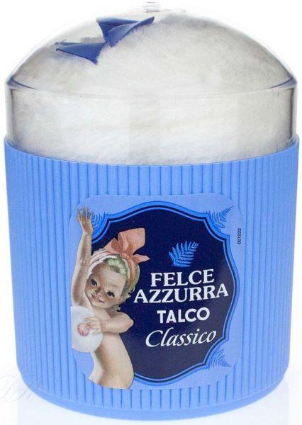 Körperpuder + Schwämmchen 250 g /Felce Azzurra