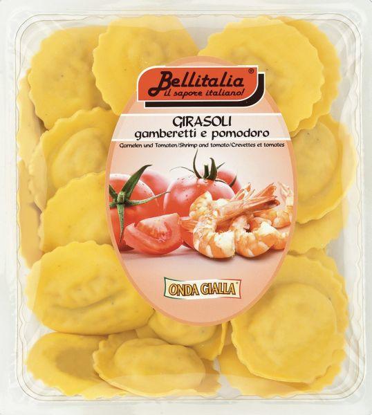 Girasoli mit Garnelen und Tomaten 500 g / Bellitalia