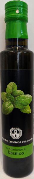 Condimento al basilico Olivenöl 0,25l / Oleificio di Moniga del Garda