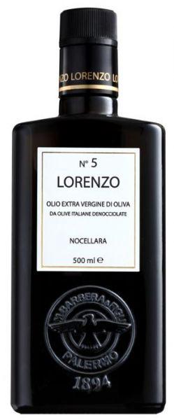 Olio extra Vergine di Oliva DOP Lorenzo No 5 Olivenöl 0,5l / Barbera