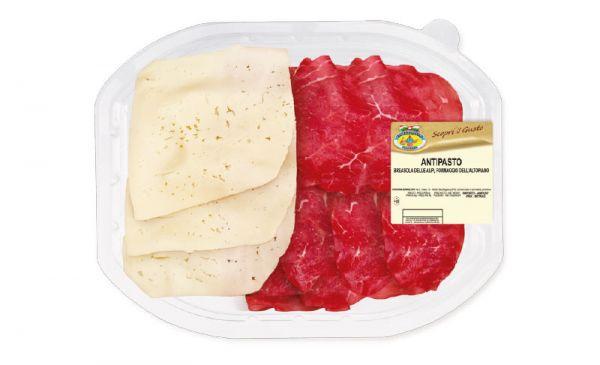 Antipasti Bresaola & Käse Altopiano 120g/Fontana Ermes