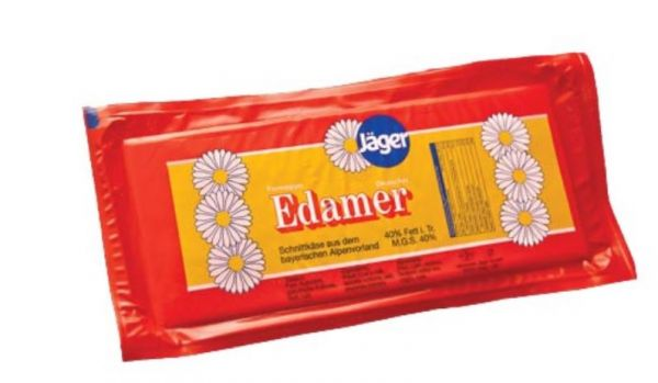 Edamer Jäger 30% Fett in Trockenmasse Brote Rot