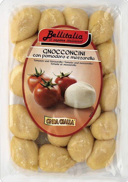 Gnocconcini Kartoffelklößchen Tomaten und Mozzarella / Bellitalia