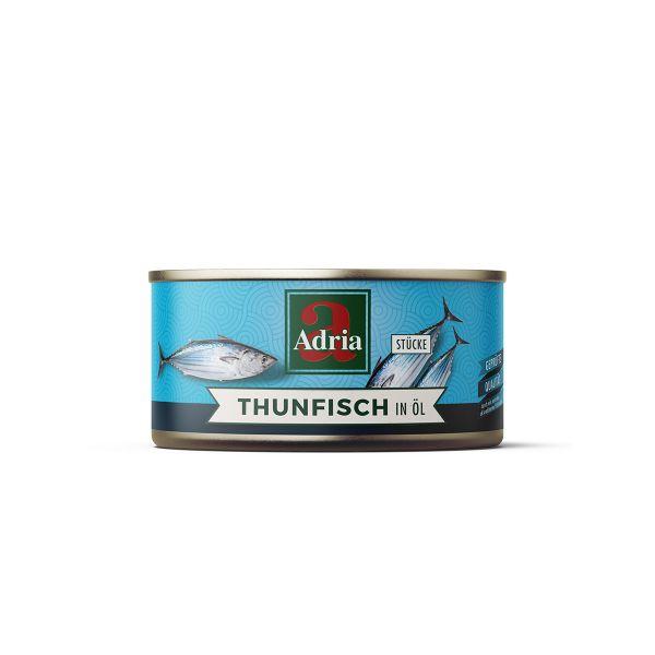 Thunfisch in Öl Stücke 130g / Adria