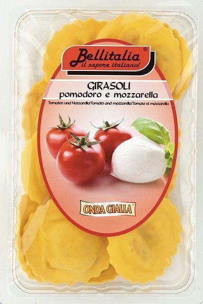 Girasoli mit Tomaten und Mozzarella 250 g/Bellitalia