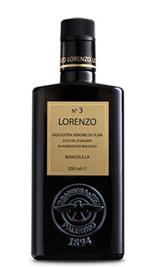 Olio extra Vergine di Oliva DOP Lorenzo No 3 Olivenöl 0,5l / Barbera