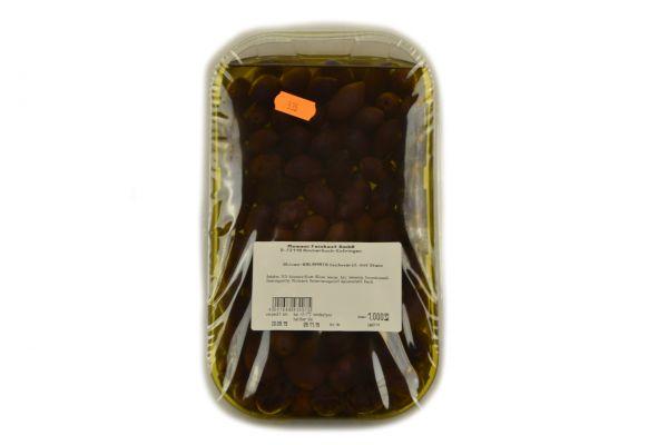 Oliven-Kalamata mit Stein