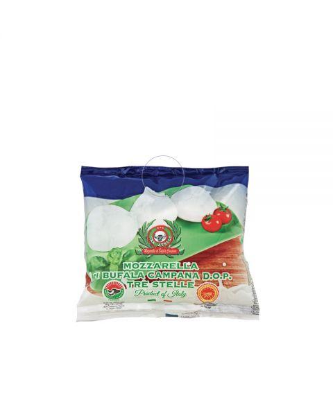 Mozzarella di Bufala 2x125 g Kugel im Beutel