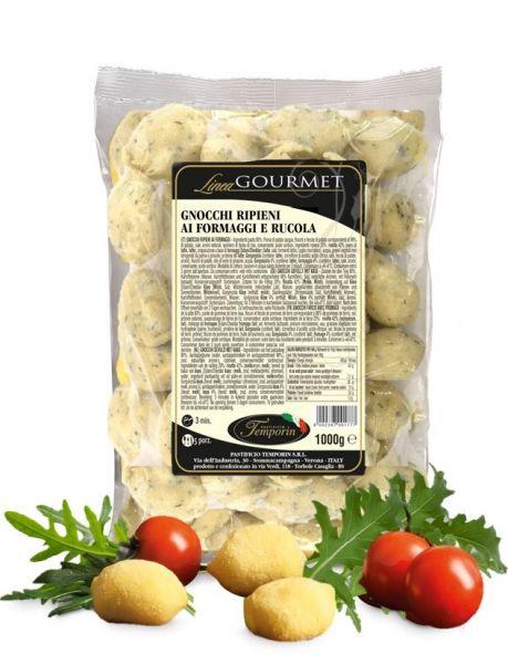 Gnocchi gefüllt mit Käse und Rucola 1Kg/Temporin