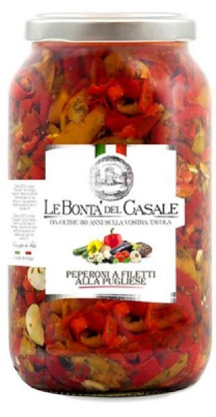 Peperoni a filetti 3100ml/Le Bonta Del Casale