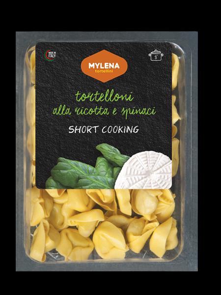 Tortelloni mit Ricotta und Spinat 250 g / Mylena