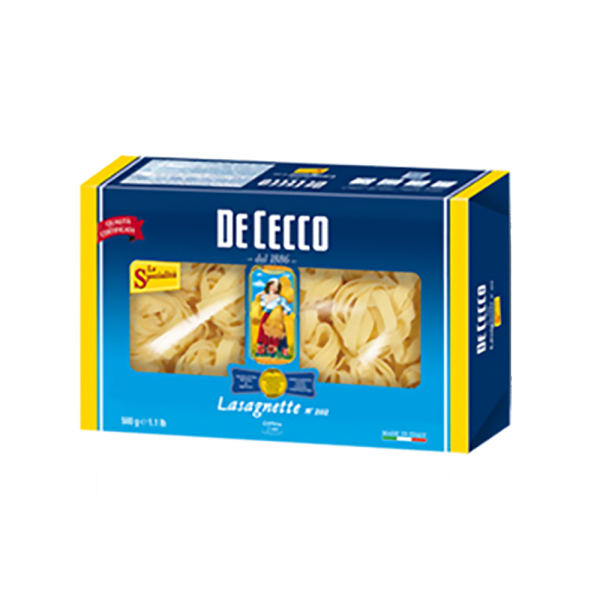 Lasagnette Nr. 202, 500 g / De Cecco