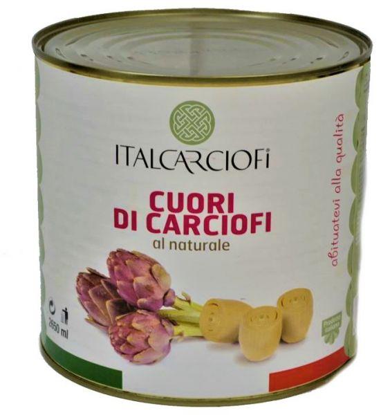 Artischocken ganz 30/40 naturale 3/1 Ds.Italcarciofi