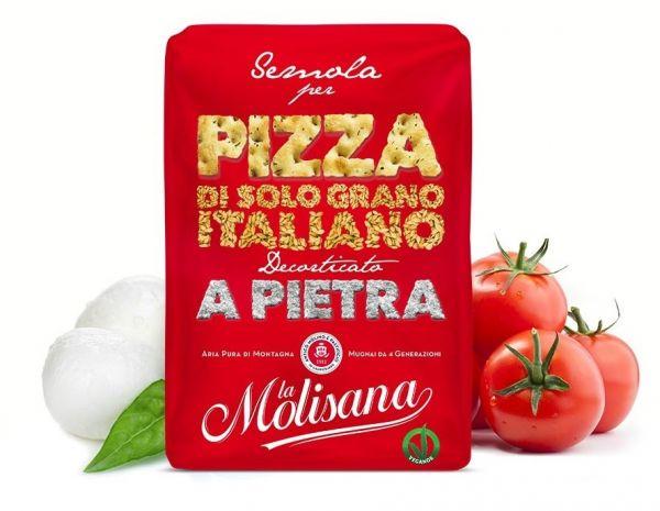 Hartweizengriess/Mehl für Pizza 1kg / La Molisana