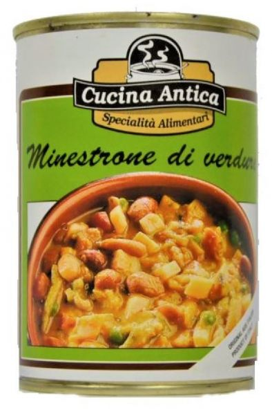 Minestrone di Verdure 410g/Cucina Antica