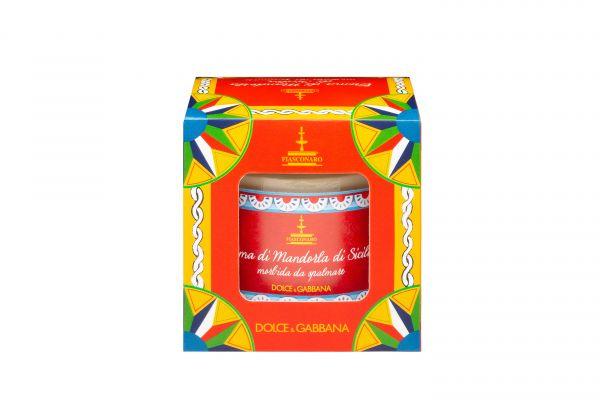 Mandel-Creme in Glas Dolce&Gabbana 200g/Fiasconaro