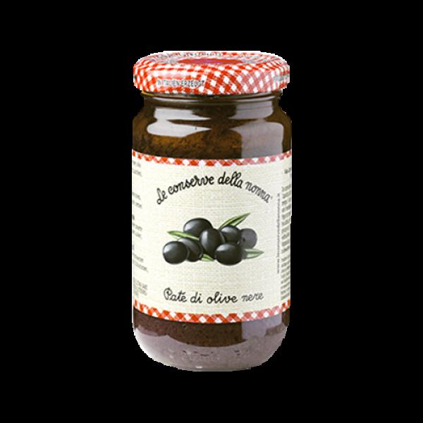 Pate di olive nere 190g /Le Conserve della Nonna