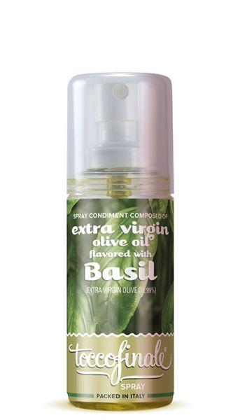 Spray Olivenöl mit Basilikumgeschmack 60 ml