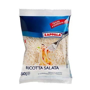 Geriebener und gesalzener Ricotta 80 g / Zappala