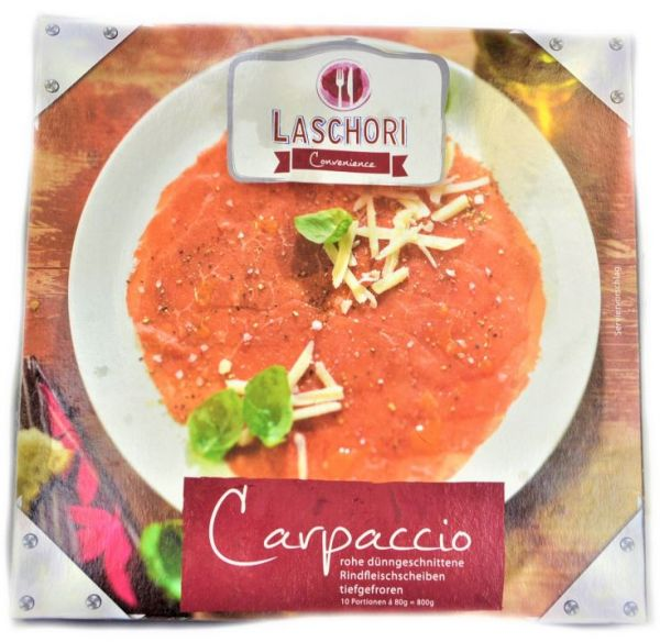 Carpaccio vom Rind 800 g