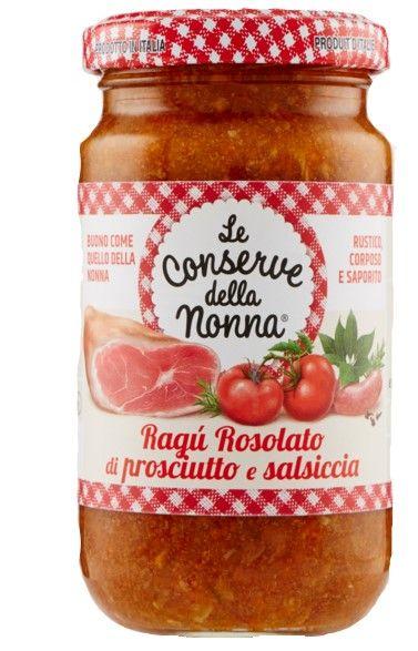 Ragu di Prosciutto e Salsiccia 190g/Le Conserve della Nonna