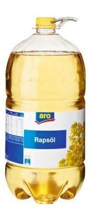 Rapsöl - Pflanzenöl 10l / Aro