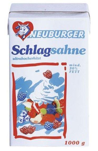 Sahne 30% 1 Liter Neuburger