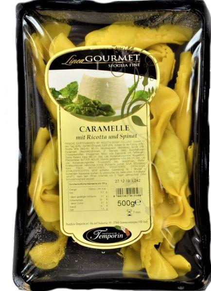 Caramelle mit Ricotta und Spinat 500 g/ Temporin
