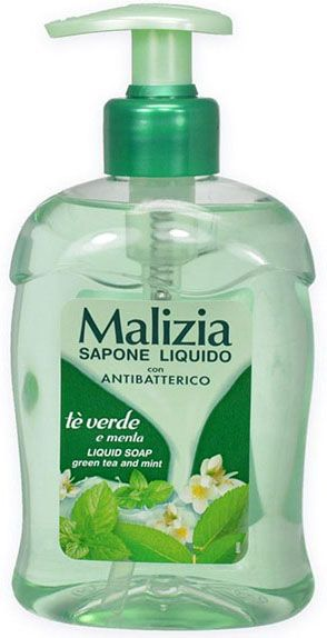 Flüssigseife Minze & Lime Antibakteriell 300ml/Malizia