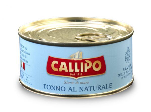 Tonno Thunfisch al Naturale 160g in Dose / Callipo