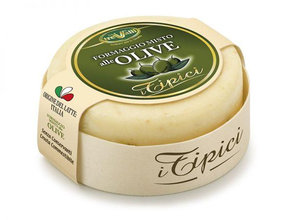 Caciotta Käse alle Olive 180 g / TreValli