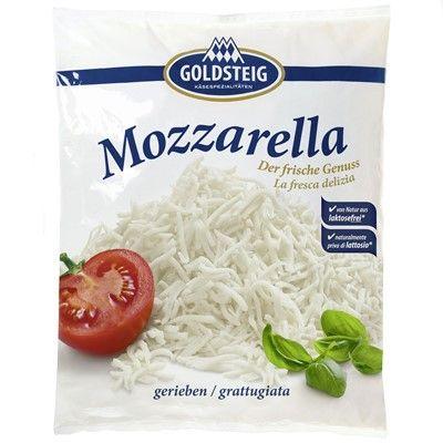 Mozzarella gerieben 1 Kg Beutel / Goldsteig