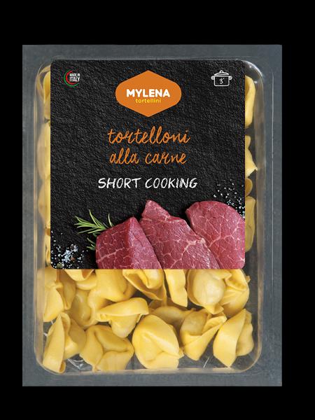 Tortelloni mit Fleisch kurze Kochzeit 250 g / Mylena