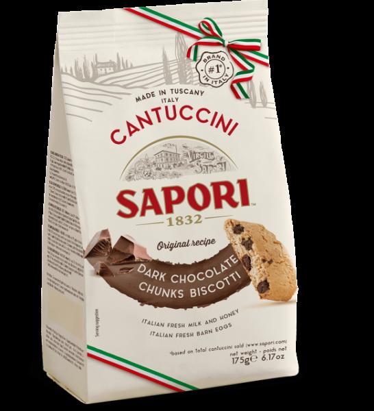 Cantuccini mit Schokolade 175g / Sapori