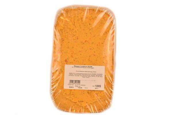 Frischkäsezubereitung Chili